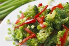 Salade de broccoli. image libre de droits