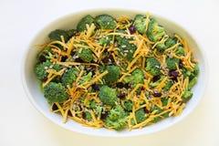 Salade de brocoli saine photo libre de droits