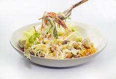 Salade de céréales Photos stock