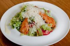 Salade de César avec le poulet Photo libre de droits