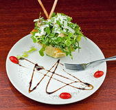 Salade de César gastronome Images libres de droits