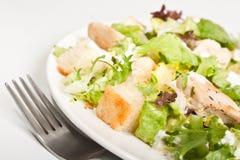 Salade de César traditionnelle Photographie stock libre de droits