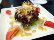 Salade de caillette de haricots Photographie stock libre de droits