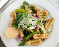 Salade de Calamari Photo libre de droits