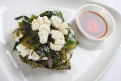 Salade de calmar Photos stock