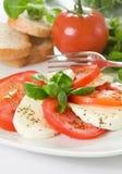 Salade de Caprese Images libres de droits