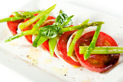 Salade de Caprese photos libres de droits