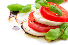 Salade de Caprese Photos stock