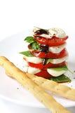 Salade de Caprese Photos stock