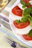 Salade de Caprese Photographie stock