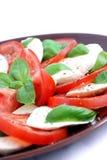 Salade de Capresse Photographie stock