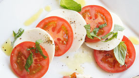 Salade de caprice image libre de droits