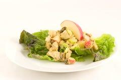 Salade de cari de poulet Images libres de droits