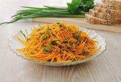 Salade de carotte Photos libres de droits