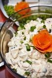 Salade de champignon Image stock