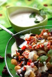 Salade de choucroute Photos libres de droits