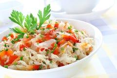 Salade de choucroute Photo libre de droits