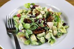 Salade de choux de bruxelles Photos stock