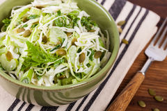 Salade de choux de chou Photo stock