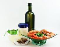 Salade de composants Photographie stock libre de droits