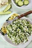 Salade de concombre Photos stock