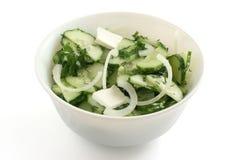 Salade de concombre Photographie stock