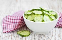 Salade de concombre Photographie stock libre de droits