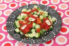 Salade de concombre Images stock