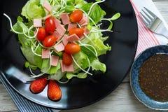 Salade de Cos photographie stock