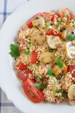 Salade de couscous images stock