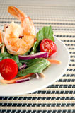 Salade de crevette photos stock