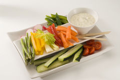 Salade de Crudites. image stock