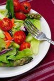 Salade de dîner Photos libres de droits