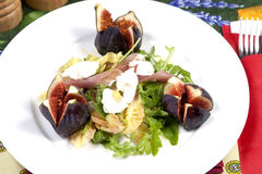 Salade de figue Photos stock