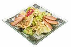 salade de filet de canard Photo libre de droits