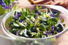 Salade de fleur Images libres de droits