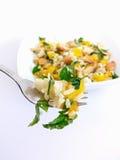 salade de fourchette photo libre de droits