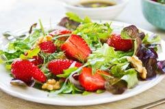 Salade de fraise Photos stock