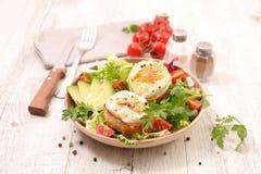 Salade de fromage de chèvre photos libres de droits