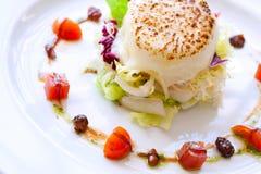Salade de fromage de chèvre. Photos stock