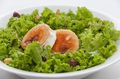Salade de fromage de chèvre Photographie stock
