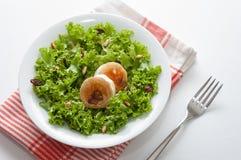 Salade de fromage de chèvre Image libre de droits