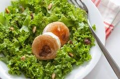 Salade de fromage de chèvre Photo stock