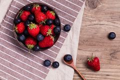 Salade de fruits photo libre de droits