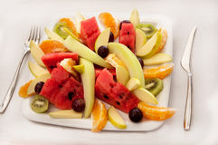 Salade de fruits Photographie stock libre de droits