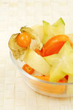 Salade de fruits Photos libres de droits
