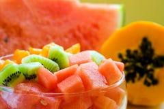 Salade de fruits Photographie stock