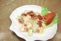 Salade de fruits Images libres de droits