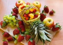 Salade de fruits Photo stock