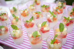 Salade de fruits Photos stock